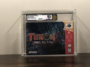 Turok 2: Seeds of Evil (Nintendo 64, 1998) VGA 95 Uncirculated