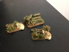 15mm WWII British Paratrooper air drop canisters