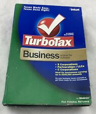 LOOK *Retail* 2005 TURBOTAX BUSINESS CD for CORPORATIONS ESTATE TRUSTS TURBO TAX