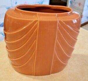Vintage Hyalyn Ceramic Vase #440 -Dusty rose -Drapery