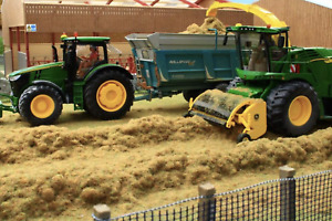 BRUSHWOOD TOYS 1:32 SCALE FIELD ROW SILAGE BT2097
