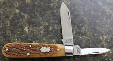 BRAND NEW Schatt & Morgan Heritage Series 2-Blade Jack Knife #1196 Stag Bone