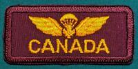 Canadian Airborne Regiment - CF Green & Garrison - Maroon Title - Disbanded 1995