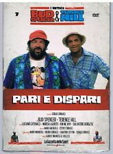 PARI E DISPARI vol. 7 BUD SPENCER TERENCE HILL DVD EDITORIALE SIGILLATO!!!