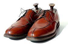 Allen Edmonds 14E Gentleman's Chili Brown Split-Toe Dress Shoes - USA - $425.00
