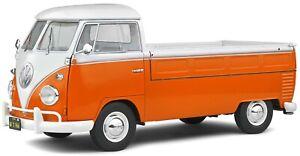 VW T1 pickup model orange/white or blue/white 1950 1:18 SOLIDO 1806701 1806702