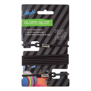 Manbi Glove Glue, Glove Cord for Gloves & Mittens-Elasticated Retainer 3 Colours