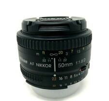 Nikon AF NIKKOR 50mm f/1.8D - UK NEXT DAY DELIVERY