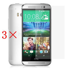 3 Pcs Anti-Glare Matte Front Screen Protector Guard Film For New HTC One 2 M8