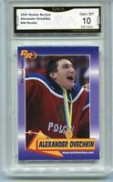 2003 Alexander Ovechkin Rookie Review  rookie gem mint 10 #44