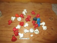 28 OLD SCHOOL SHORT PUSH BUTTONS FOR ARCADE VIDEO GAMES