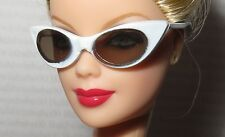 SUNGLASSES ~ BARBIE DOLL CHARLOTTE OLYMPIA CAT FRAME GLASSES DOLL ACCESSORY