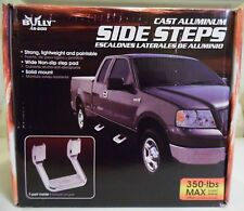 Bully AS-600 Cast Aluminum Side Steps NEW IN BOX