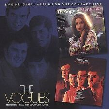 Vogues Memories Sing the Good Old Songs 2-on-1 CD God Only Knows PS I Love You