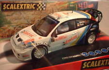 SCALEXTRIC 6147 FORD FOCUS WRC  #7  RALLY  MONTECARLO 2004 M.MARTIN-PARK  MB