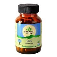 Organic India Neem 60 Capsules | Blood Purifier Ayurvedic Capsules