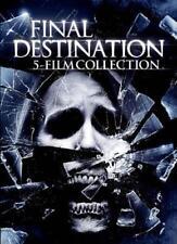 FINAL DESTINATION: 5 FILM COLLECTION NEW DVD