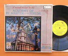 OL 264 A Second Recital By The Academy of St. Martin In The Fields NM/VG Mono LP