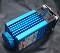 PWM/TTL 450nm 7W Focusable  Blue Laser Module Carving/Engraning Gift Goggles