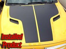 Dodge Ram 1500 SRT Rebel Hemi Hood Vinyl Decal Kit 2009-17 OE Style Matte Black