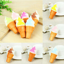 10cm Ice cream Squishy Cake Slow Rising Straps Bread Cellphone Pendant Accessory