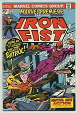 Marvel Premiere 20 Early Iron Fist High Grade