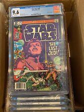 "Star Wars #49 CGC 9.6 Wht Pgs ""Death"" of Jedidiah 1981 Marvel Comics Newsstand"