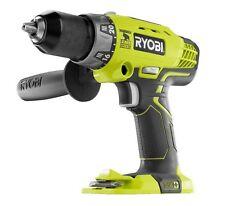 "Ryobi One+ P214 18v 1/2"" Cordless Hammer Drill 2-Speed Li-Ion  NEW!  FREE SHIP!"