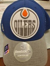 NWT Edmonton Oilers Reebok Center Ice  NHL Hockey Fitted Cap Hat NEW