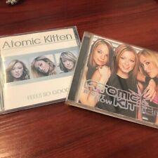 ATOMIC KITTEN - FEELS SO GOOD / RIGHT NOW - 2 CD SET