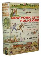 NEW YORK CITY FOLKLORE 1st MANHATTAN HISTORY LEGENDS SOCIETY SALOONS FIRES CRIME