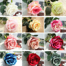 Valentine's Mother Day Gift Artificial Fake Flannelet Flower Wedding Home Decor