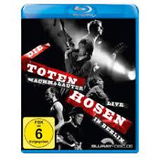 Blu Ray Die Toten Hosen - Machmalauter - Live In Berlin