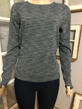Lululemon Size 6 &go City Pullover Green Space Dye Top
