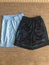 2 Lot Boys Athletic Shorts ~ And1 Size 8 ~ Fitness Gear Size S  2-pair Blue