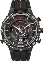 Timex Intelligent Quartz Tide Temp Compass Watch Black