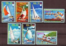 Republica de Guinea Ecuatorial  año 1972 Munich  regatas deportes  sellos nuevos