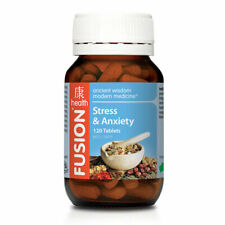 Fusion Health Stress and Anxiety Tablets - 120 Count
