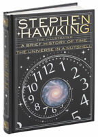 THE ILLUSTRATED A BRIEF HISTORY OF TIME / UNIVERSE IN A NUTSHELL ~NEW SEALED~