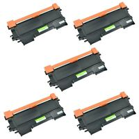 5PK TN450 Black Toner Cartridge For Brother FAX-2840 FAX-2940 Printer Series