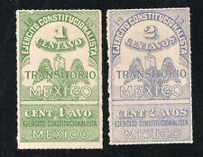 Mexico - Sc# 347a MH + 348a M no gum  -  Lot 1120603