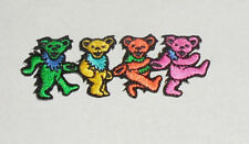 """Grateful Dead Dancing Bears Strip Embroidered iron on Patch 3"""""""
