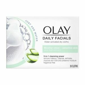 Olay Daily Facials 5-in-1 Cleansing Power - Micellar Clean - Sensitive Skin UK