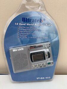 Ultratek 10 band World Receiver Radio - Brand New Sealed - UT-DM 9013