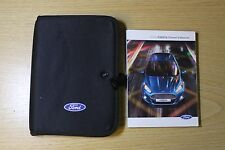 Ford Fiesta Manuel Owners Manual Portefeuille Audio Navi Sync Pack de 2013-2016