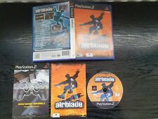 Airblade PS2 PlayStation 2 Video Game Black Label Mint Condition