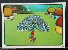 figurines cromos los pitufos cards figurine i puffi 61 panini 1982 the smurfs gq