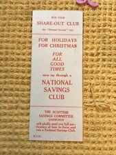 More details for vintage bookmark national savings club