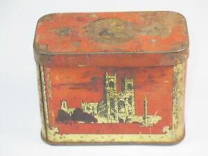 VINTAGE OXO CUBES TIN/MONEY BOX Coronation Treasure Chest Edward VIII 1937