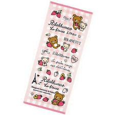 San-X Rilakkuma Face Towel Strawberry of Paris theme CM56201 - 18c